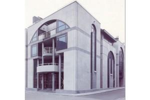 appartementsgebouw te Knokke-Heist