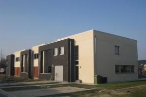 groepswoningbouw te Oostakker