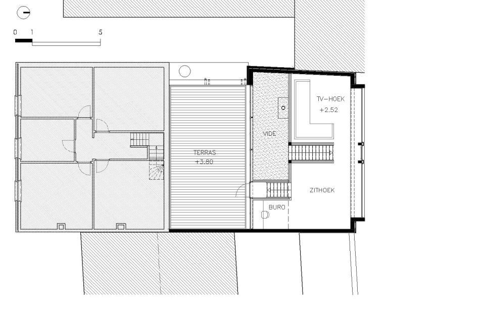 Dv d architecten verdieping dv d architecten - Moderne verdieping ...