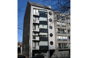appartementsgebouw te Leopold II-laan Gent