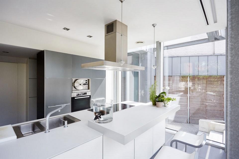 Moderne Keukens Gent : Dv d architecten moderne keukens