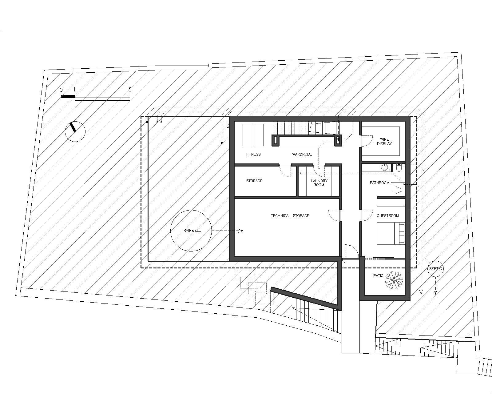Villa Milna basement
